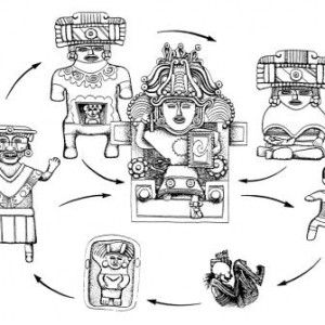 Life cycle of the women of Xochitécatl